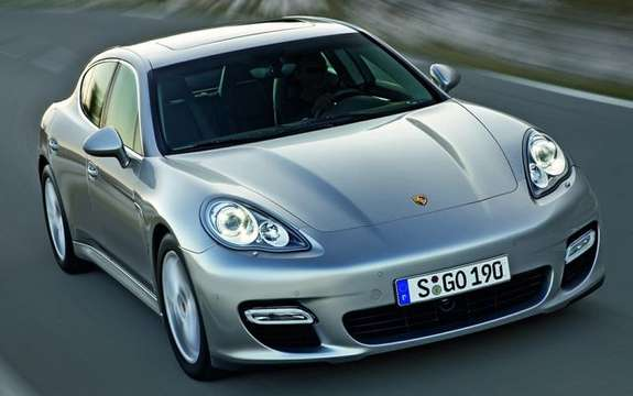 Porsche Panamera First official information and photos