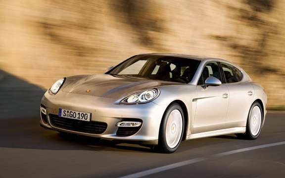 Porsche Panamera First official information and photos picture #2