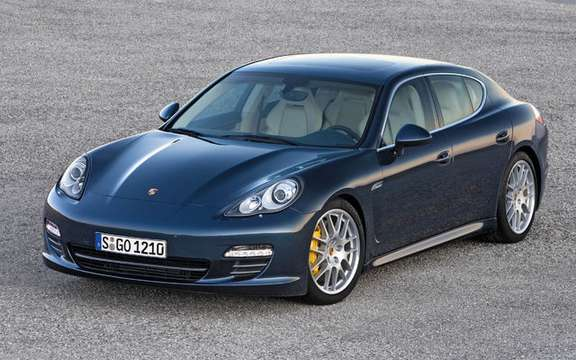 Porsche Panamera First official information and photos picture #3