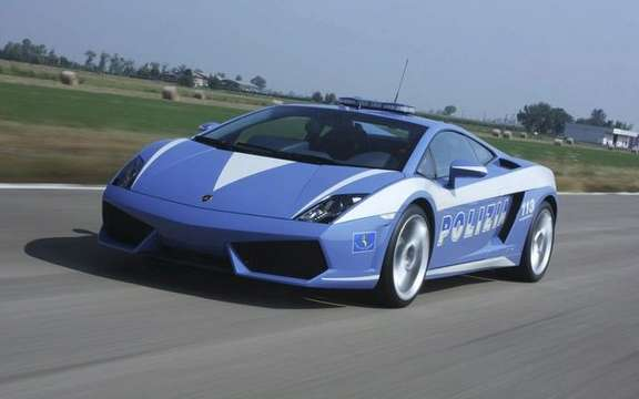 Lamborghini Gallardo LP560-4 Polizia conceived for