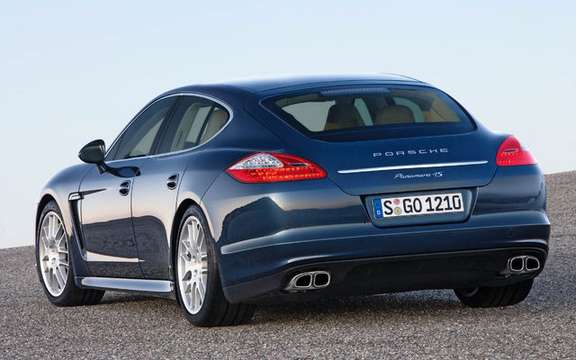 Porsche Panamera First official information and photos picture #4
