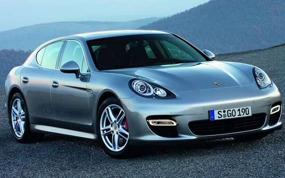 Porsche Panamera First official information and photos picture #5