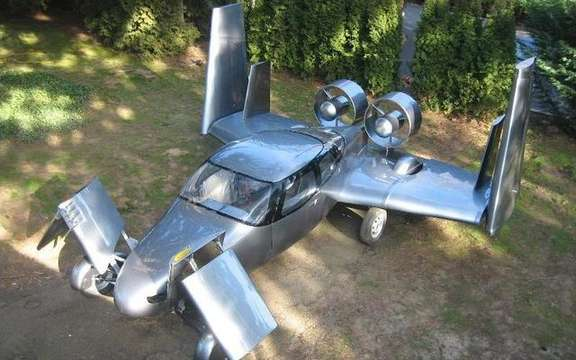 Milner AirCar, the flying car picture #6