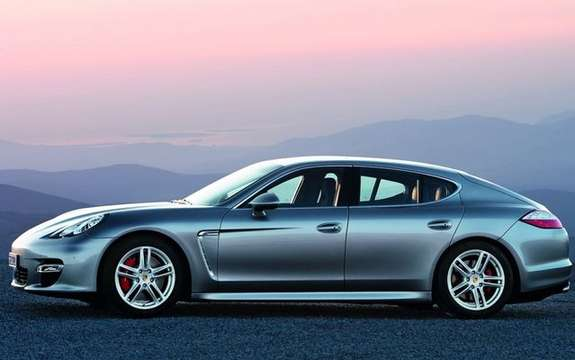 Porsche Panamera First official information and photos picture #6