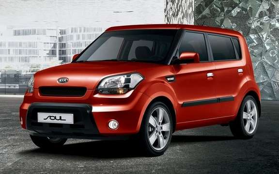 Kia SOUL, three engines offered