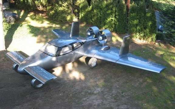Milner AirCar, the flying car picture #7