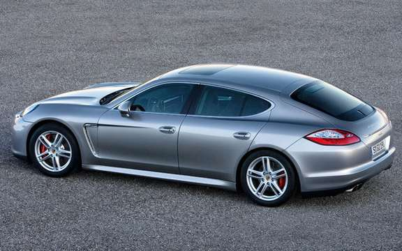 Porsche Panamera First official information and photos picture #7