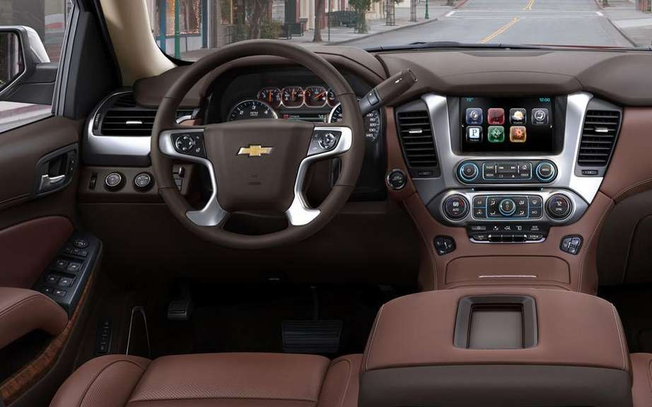 Chevrolet Tahoe 2015 can discourage thieves picture #6