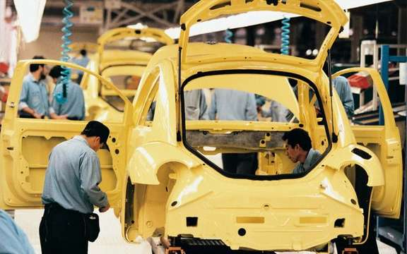 Production vehicles: Mexico soon outpace Canada