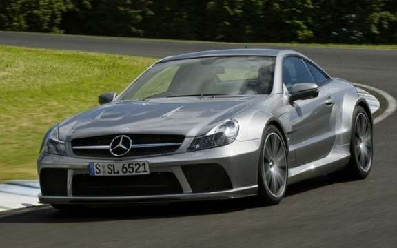Mercedes-Benz SL65 AMG Black Series, unveiled in Paris