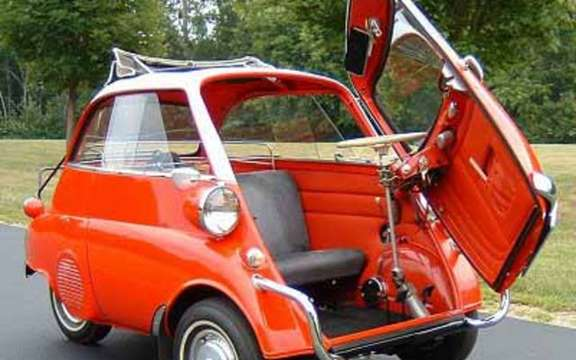 Return of the BMW Isetta, which suddenly smoking! picture #5