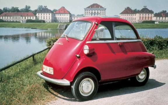 Return of the BMW Isetta, which suddenly smoking! picture #6