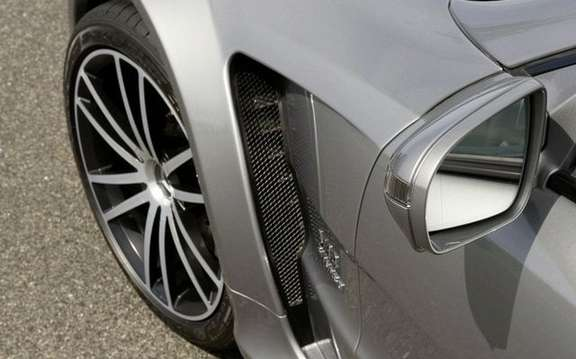 Mercedes-Benz SL65 AMG Black Series, unveiled in Paris picture #3