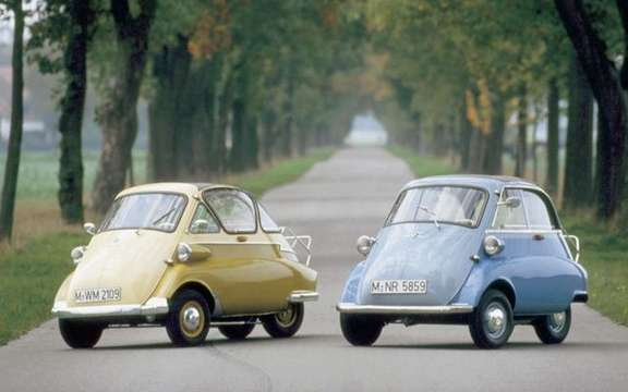 Return of the BMW Isetta, which suddenly smoking! picture #7