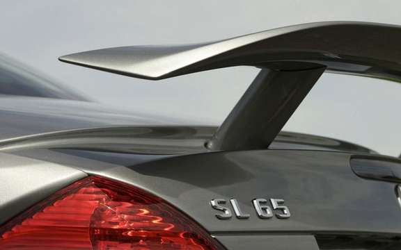 Mercedes-Benz SL65 AMG Black Series, unveiled in Paris picture #4