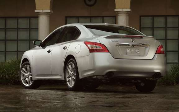 Nissan Canada Inc. Announces Pricing for the new 2009 Maxima picture #3