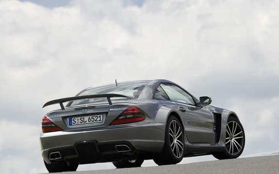 Mercedes-Benz SL65 AMG Black Series, unveiled in Paris picture #9