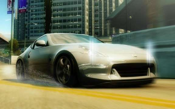 The 2009 Nissan 370Z was unveiled in the game Need for Speed ​​Undercover EA