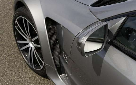 Mercedes-Benz SL65 AMG Black Series, unveiled in Paris picture #10