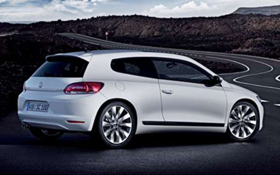 VW Scirocco, small opening to America picture #2