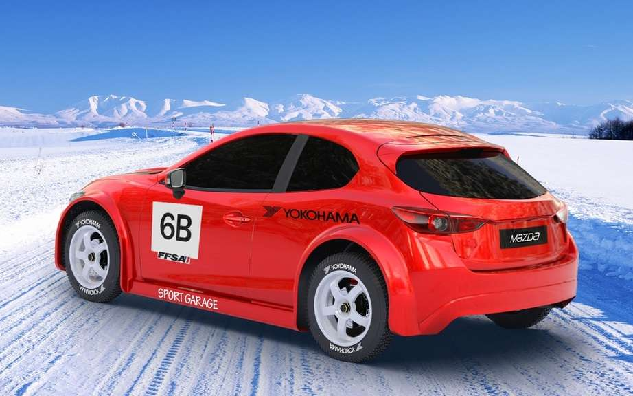 Big names driving the Mazda3 for the Trophee Andros picture #6