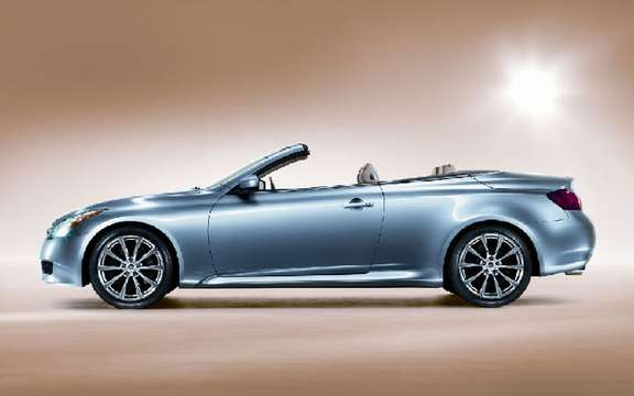 A taste of the Infiniti G37 Convertible