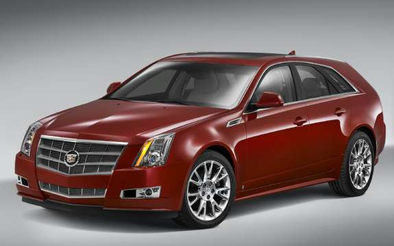 What's New Cadillac CTS Sport Wagon with SRX 2010 and picture #2