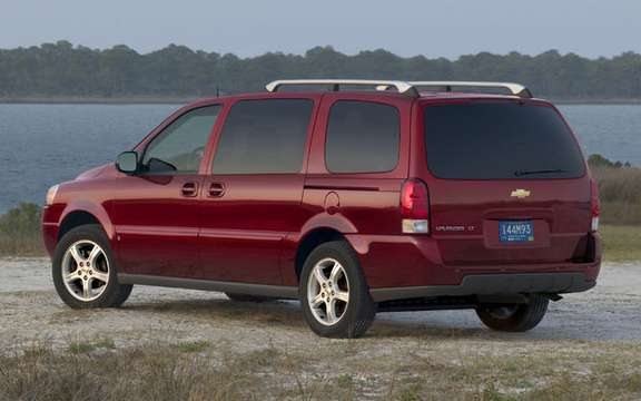 Chevrolet Uplander / Pontiac Montana SV6, always available picture #2