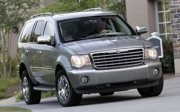 Chrysler Canada announces pricing for 2009 model Aspen HEMI (R) Hybrid