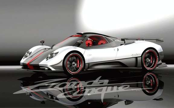 Pagani Zonda Cinque, in only five copies