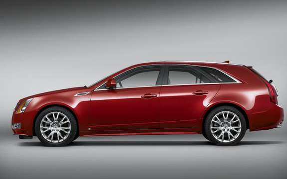 What's New Cadillac CTS Sport Wagon with SRX 2010 and picture #4