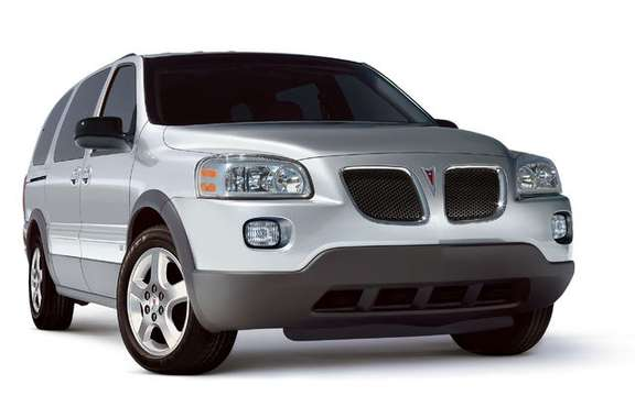 Chevrolet Uplander / Pontiac Montana SV6, always available picture #4
