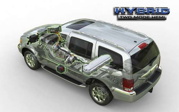 Chrysler Canada announces pricing for 2009 model Aspen HEMI (R) Hybrid picture #3
