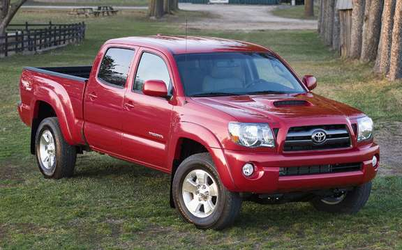 Tacoma 2009 new model, more standard equipment and a lower price