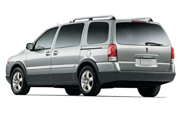 Chevrolet Uplander / Pontiac Montana SV6, always available picture #5