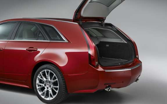 What's New Cadillac CTS Sport Wagon with SRX 2010 and picture #6