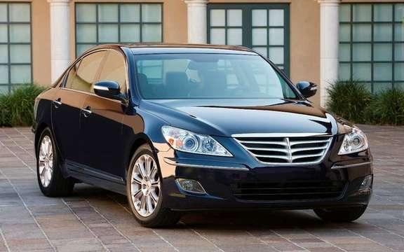 Hyundai announces pricing for its new Genesis sedan upscale picture #2