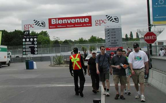Open day at the Grand Prix of Canada picture #2