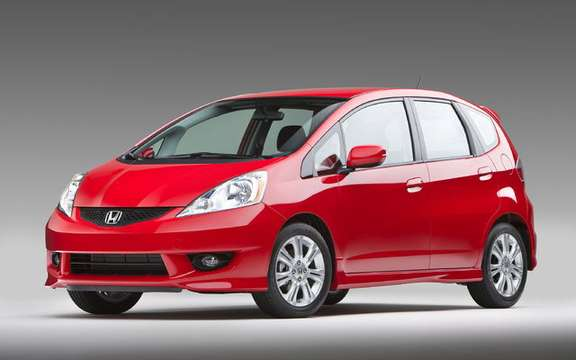 Unveiling of the 2009 Honda Fit