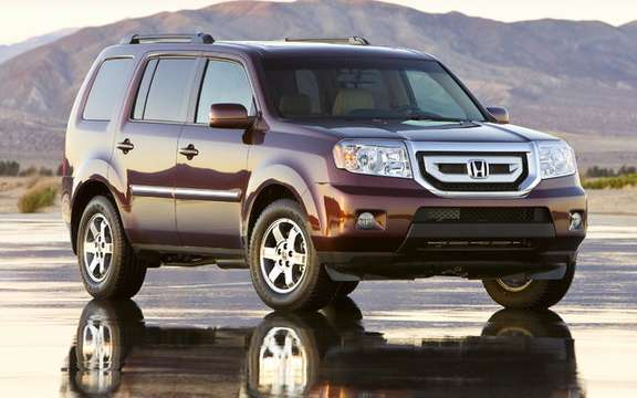 Honda announces pricing of the new model 2009 Pilot