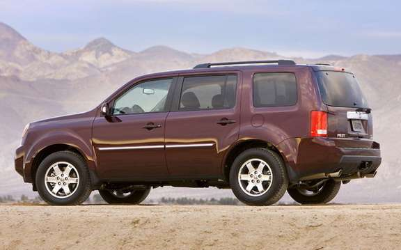 Honda announces pricing of the new model 2009 Pilot picture #2