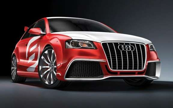 The Audi A3 TDI Clubsport Quattro Concept, in the footsteps of ... picture #2