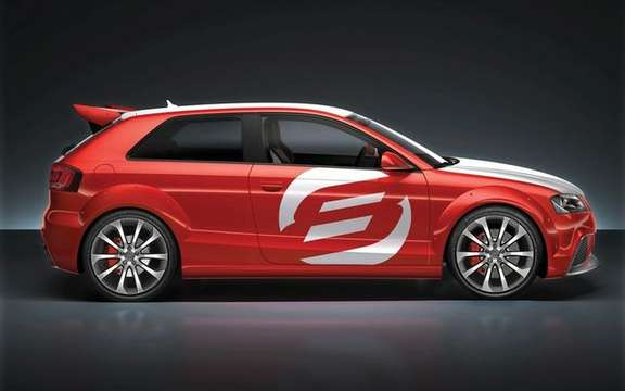 The Audi A3 TDI Clubsport Quattro Concept, in the footsteps of ... picture #3