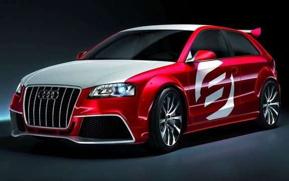 The Audi A3 TDI Clubsport Quattro Concept, in the footsteps of ... picture #4