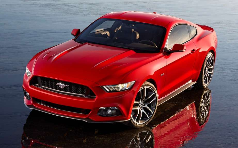Ford Mustang 2015 put on auction picture #5