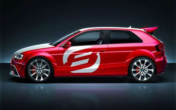 The Audi A3 TDI Clubsport Quattro Concept, in the footsteps of ... picture #5