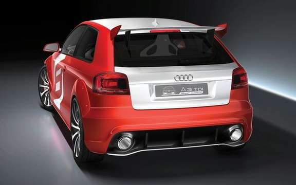 The Audi A3 TDI Clubsport Quattro Concept, in the footsteps of ... picture #6