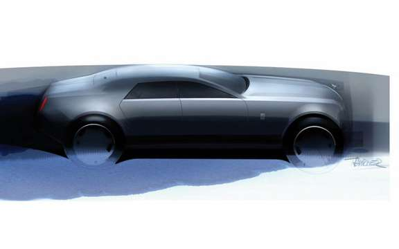 The manufacturer Rolls-Royce unveiled the first sketch of its RR4 picture #2