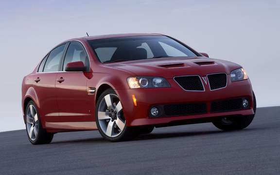 Pontiac announces pricing for its new sport sedan featuring: G8