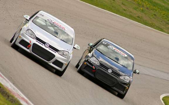 International debut for Jetta TDI Cup picture #2